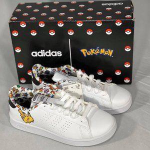 Adidas Advantage Pokemon Pikachu Kids Unisex Shoes